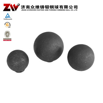 Forged Ball Mill Grinding Media For Cement 150mm