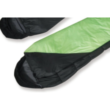Hot sale convenient and fixed different colour mummy sleeping bag