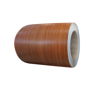 wood pattern prepainted steel coil