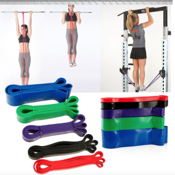 Multifunction Stretch Resistance Pull Up Assist Band