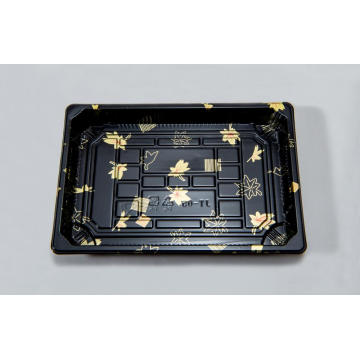 Rectangular Plastic Sushi Tray
