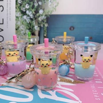 Pikachu Liquid Keychain Accessories