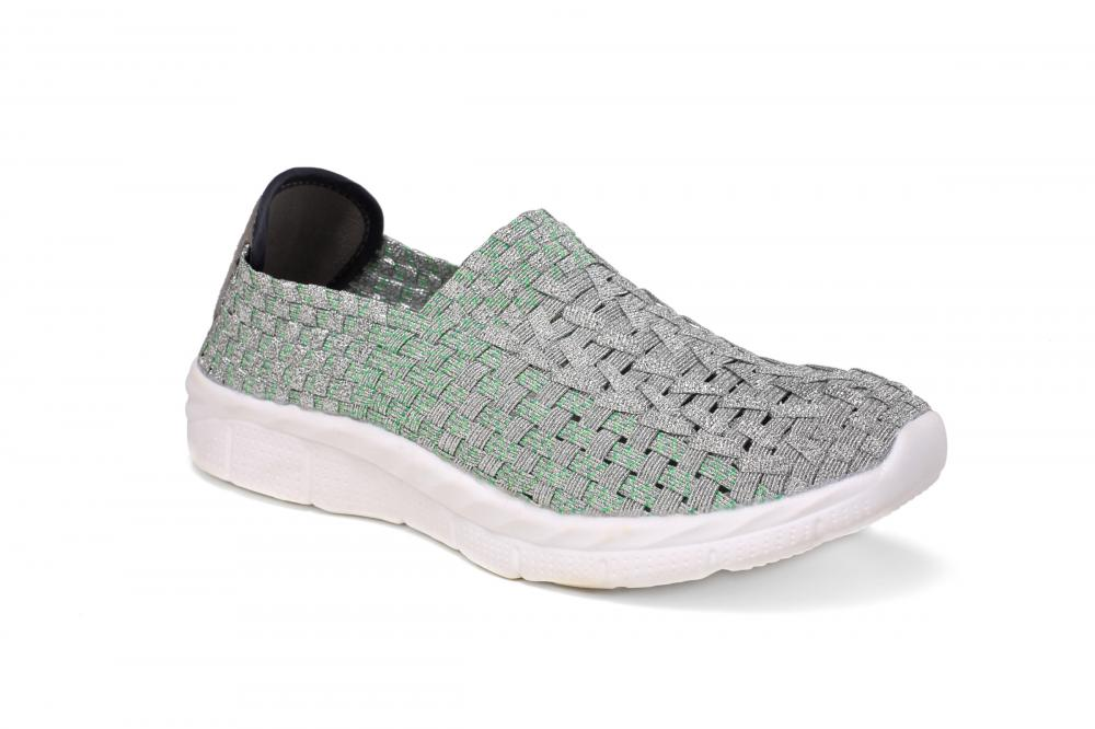MD Soles Woven Hollow Work Shoes