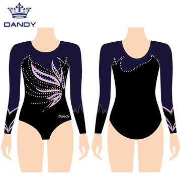 Customized training gymnastic leotard