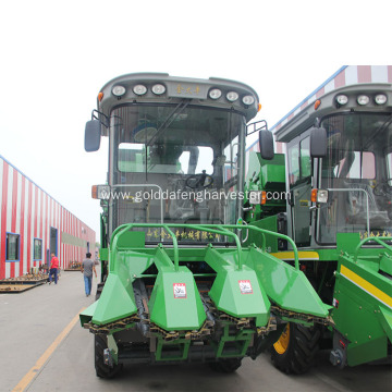 small scale corn combine harvester equipment