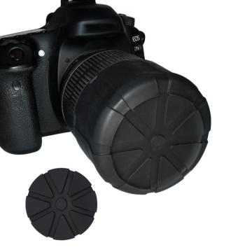 Universal Waterproof Silicon DSLR Camera Cover Lens Cap Protective Anti-Dust Fallproof SLR Camera Silicone Protector Lens Cover