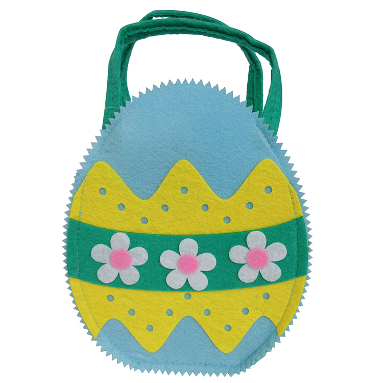 Felt Fabric Easter Egg Basket Bag