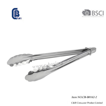 9 Inch Stainless Steel BBQ Grill Food Tong