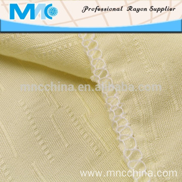 high quality woven dyed jacquard rayon fabric