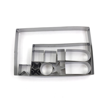 Stainless Steel High Quality Cookie Cutter Set