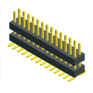 1.00mm Pitch Dual Row Dual Plastic SMT Type