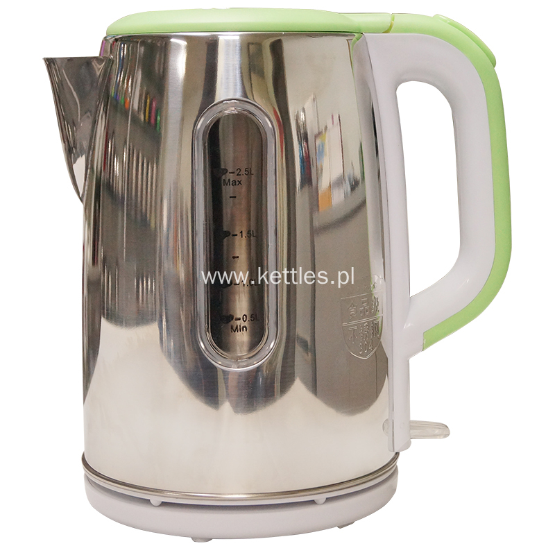 New design electirc kettle with water gauge