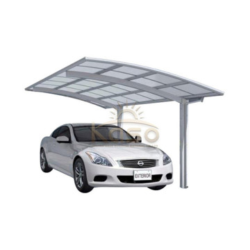 Adjustable Roof Canopy 20X20 2 Post Carport