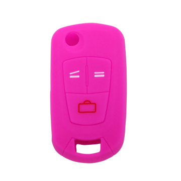 Silicone rubber car key covers for Opel car