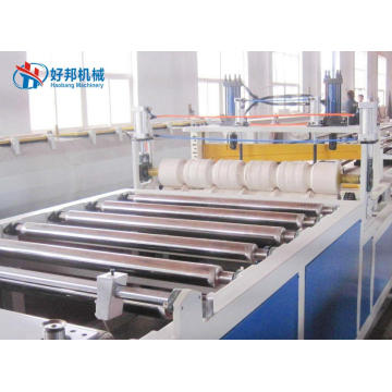 PC corrugated roof sheet machine line