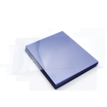Transparent plastic pvc sheet for printing