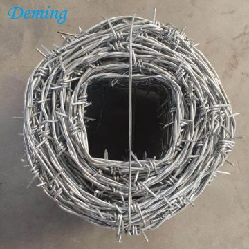 25kgs Hot Dipped Galvanized Barbed Fencing Wire