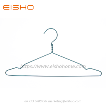 Aluminum Wire Laundry Clothes Hanger Wth Notched AL014