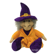 Plush Witch Happy Halloween