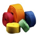 wholesale pp twisted rope colored rope direct sale