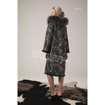 Winter Reversible Hooded Kopenhagen MInk Coat