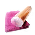 Plastic bottled Summer Use pure color cold Towels