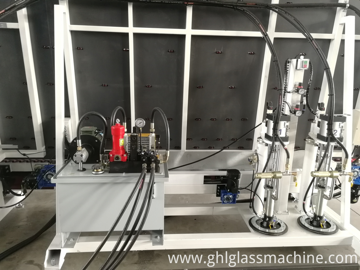 Triple Glass Sealing Robot