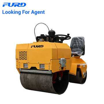 Road construction double drum Vibrated road roller compactor FYL-855