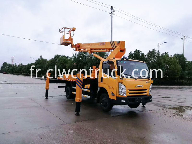 Aerial Truck with Basket 2