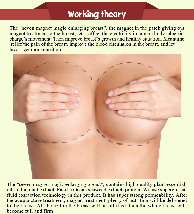 Enlargement Patch for Big Breast