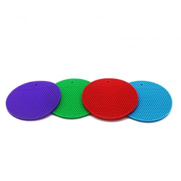 Colorful silicone cup mat for house