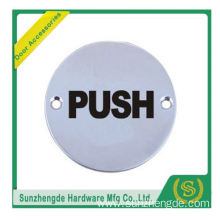 BTB SSP-008SS And Glass Push Pull Door Sign Plate