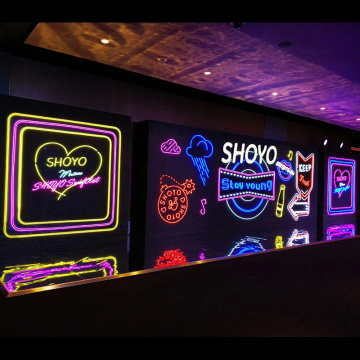 INDOOR NEON SIGN BOARD