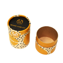 Custom Printed Brown Kraft Tube For Cookie Packaging