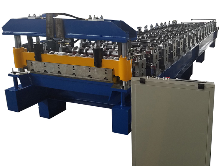 Trapezoid Cold Forming Machine