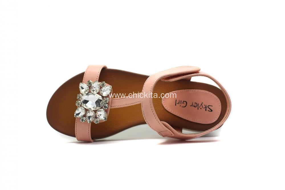 Childrenl's Square diamond buckle  Shoes