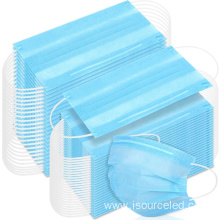 MASK Filtration>95% 3ply Surgical Mask