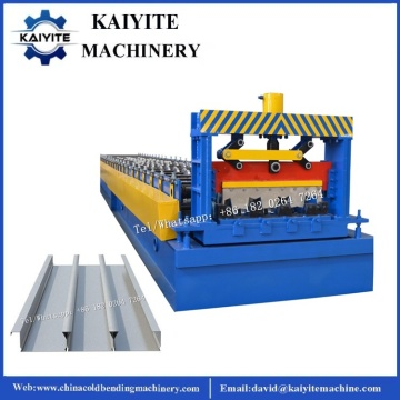 Closed Type Galvanized Steel Floor Deck Machine