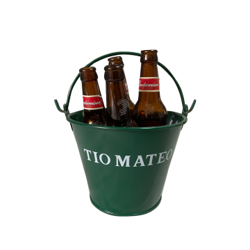 Decorative printing 3QT beer ice bucket