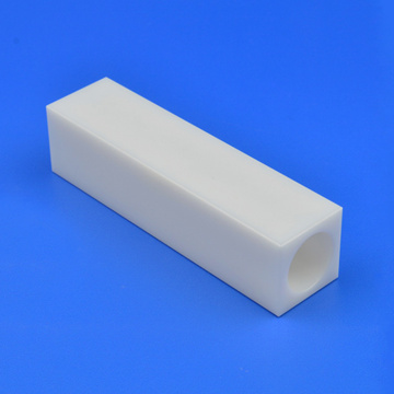 High Precision YSZ Zirconia Ceramic Square Tube