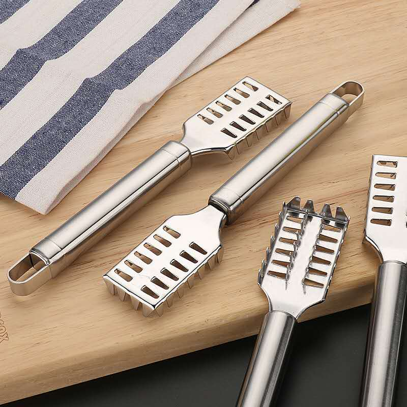 Trendy Stainless Steel Fish Scale plane