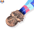 The award medal bronze metal medal for sale
