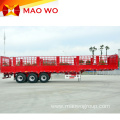Tri-axles 60ton Animal Fence Cargo Semi Trailer