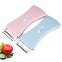 Plastic Two Blade Manual Multipurpose Potato Peeler
