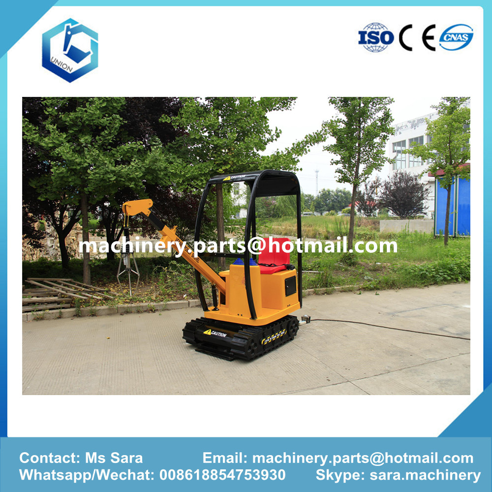 grab kids rid on excavator UN-8