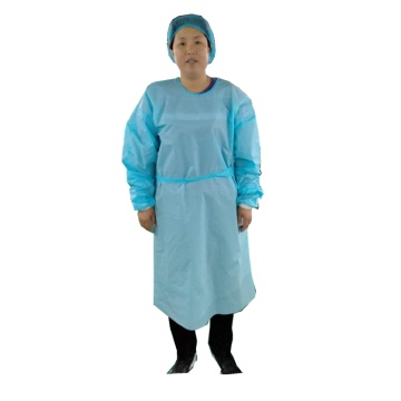 Export CPE  material protective gown