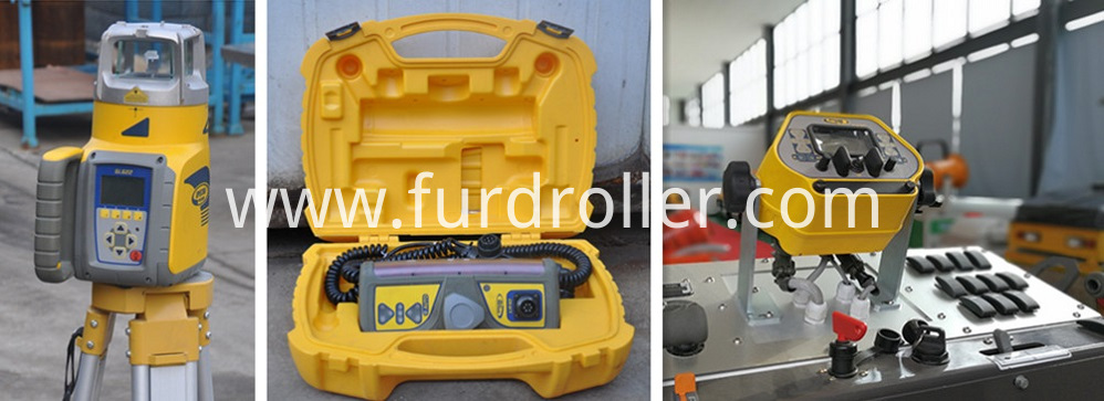 Laser Concrete Screeding Machine