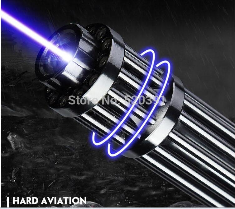 Super Powerful! Military Blue Laser Pointer 100000m 100w 450nm Flashlight Light Burning Match/dry wood/Burn Cigarettes Hunting