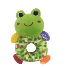 Plush Frog With Rattle