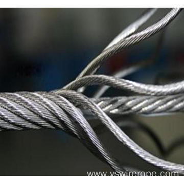 304 stainless steel wire rope 7x19 14.0mm